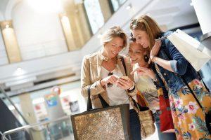 Shopping mit HieroCity. Dein Einkauf-Erlebnis-Assistent. Die City App für Stadterlebnis Stadtmarketing Einzelhandel Gamification Events und Smart Shopping. Belebend durch den Shared Activity Builder (KI)